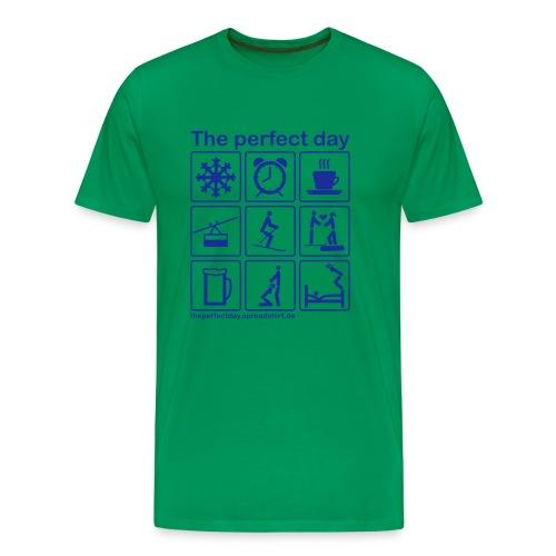 Ski - Männer Premium T-Shirt