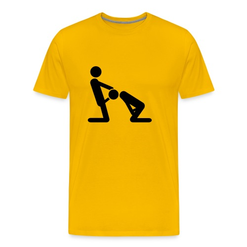 Camiseta Felación - Camiseta premium hombre
