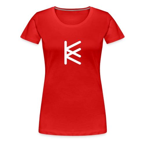 Symbol tjej - Premium-T-shirt dam