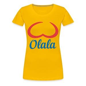 Olala! Girl - Vrouwen Premium T-shirt