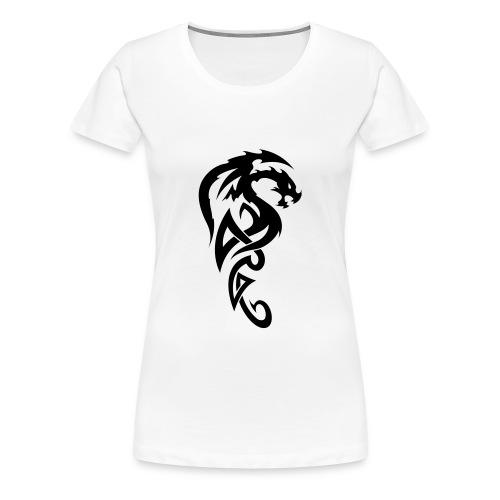 TRIBAL DRAGON - T-shirt Premium Femme