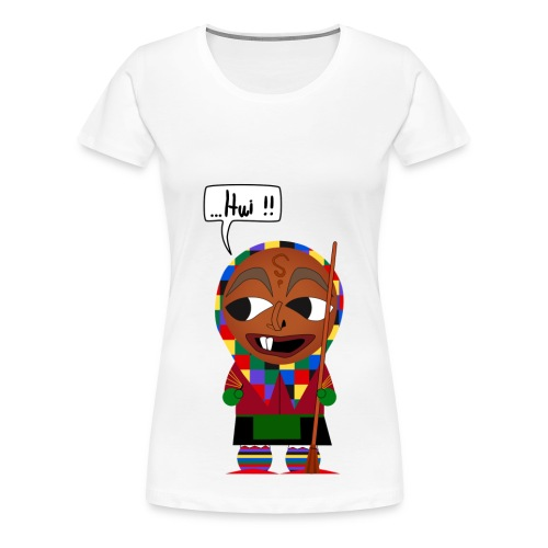 Eckhex T-shirt - Frauen Premium T-Shirt