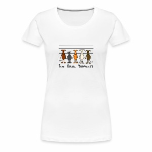 Suspects - Frauen Premium T-Shirt