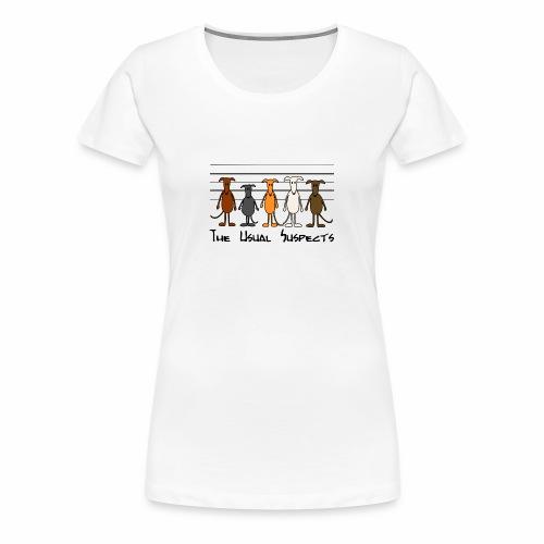 Suspects - Frauen Premium T-Shirt