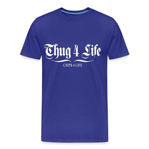 T shirt homme thug 4 life crips 4 life - T-shirt Premium Homme