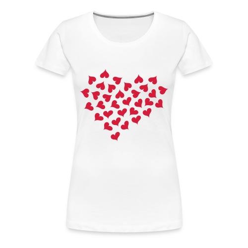 Hearts of Hearts - Women's Premium T-Shirt