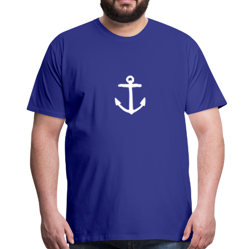 Anker (Weiß) S-5XL T-Shirt - Männer Premium T-Shirt