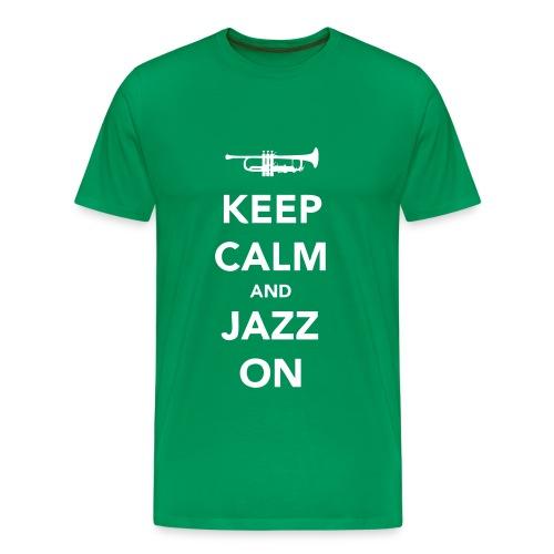 keep calm trąba - Koszulka męska Premium