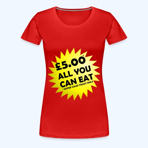 Special Offer Ladies T-Shirt - Women's Premium T-Shirt