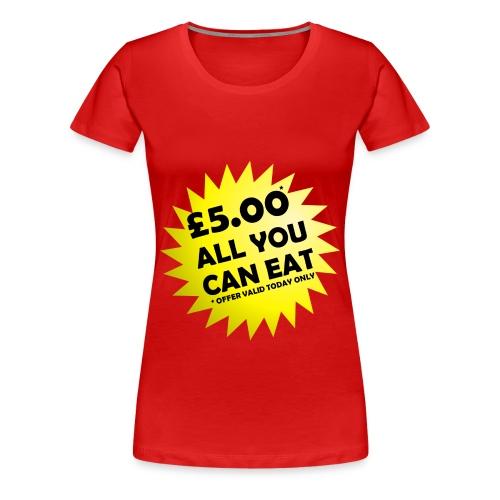 Special Offer Ladies T-Shirt - Women's Premium T-Shirt