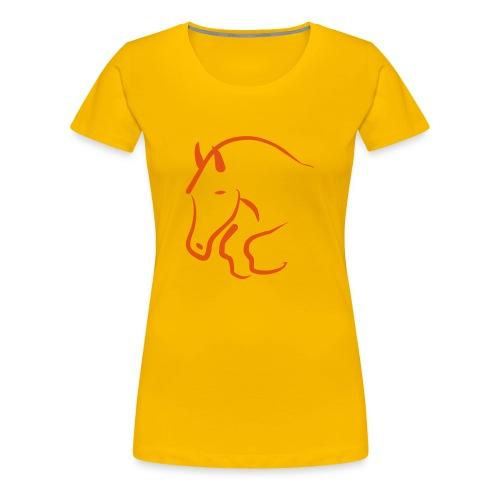 Maglietta cavallo - Maglietta Premium da donna
