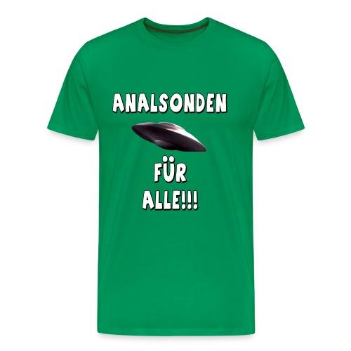 Analsonden für alle!!! - 2 - Männer Premium T-Shirt