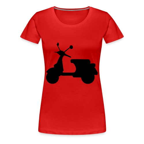 Ladies Scooter T - Women's Premium T-Shirt
