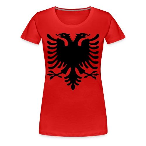 Damen - Shirt Rot Adler - Frauen Premium T-Shirt