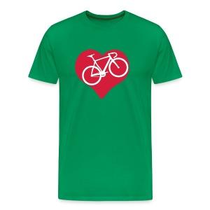 I Love Fahrrad Shirt - Männer Premium T-Shirt