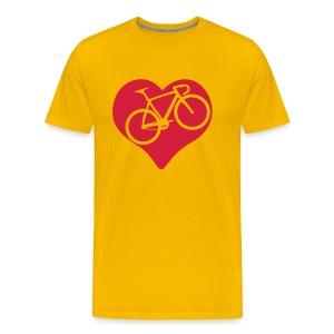 I Love Rennrad Shirt - Männer Premium T-Shirt