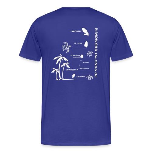 Windwards Karibik Shirt - Männer Premium T-Shirt