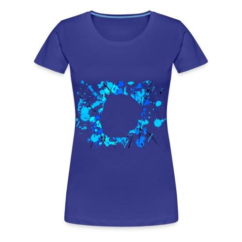 Women's Face Splat Shirt - Women's Premium T-Shirt