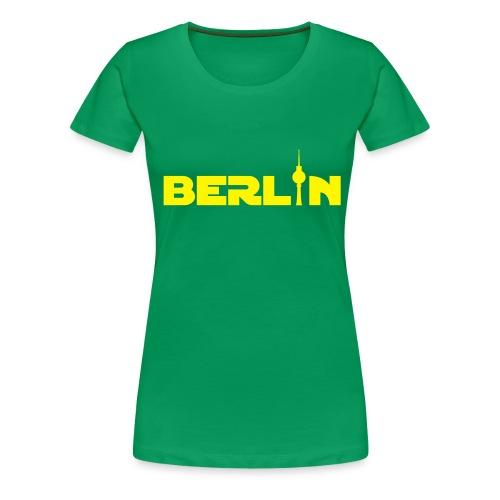 Berlin (Girlie) - Frauen Premium T-Shirt
