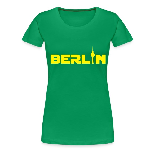 Berlin (Girlie) - Frauen Premium T-Shirt