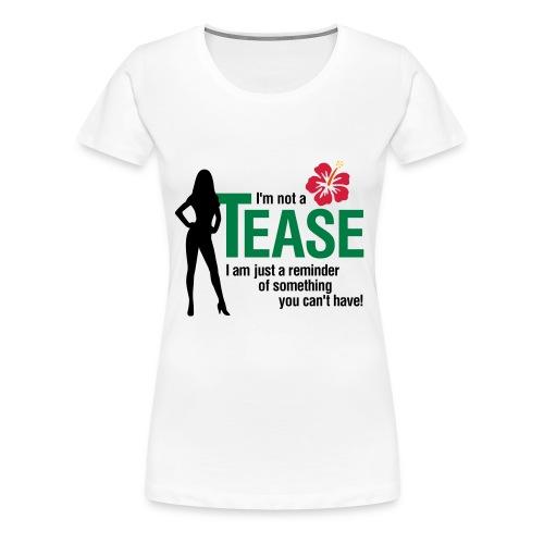 Teaser - Women's Premium T-Shirt