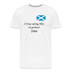 Yes - Jobs - Men's Premium T-Shirt