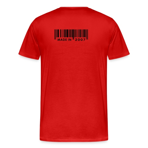 Mannen T-shirt (If you read this, you're nice) - Mannen Premium T-shirt