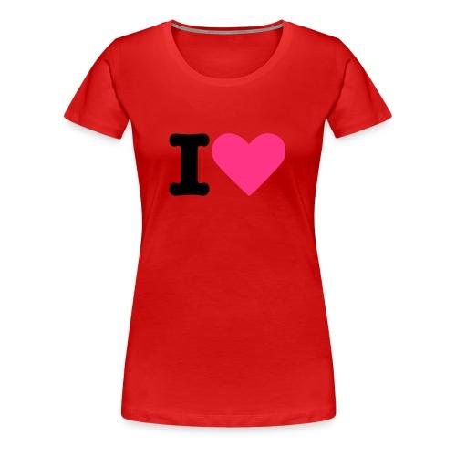 IjaimeTouge - T-shirt Premium Femme