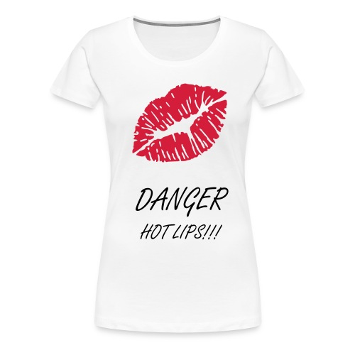Hot Lips - Women's Premium T-Shirt
