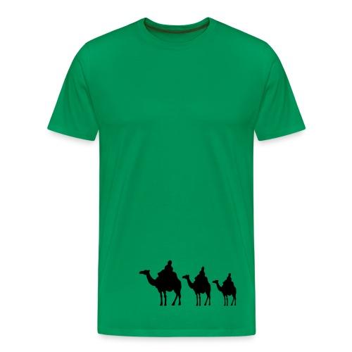 Kamelreiter - Männer Premium T-Shirt