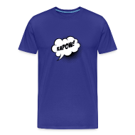 T-Shirts ~ Men's Premium T-Shirt ~ Speech balloon Kapow! T-shirts