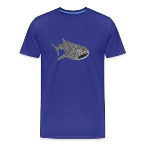 tiershirt walhai wal hai fisch whale shark taucher tauchen diver diving naturschutz endangered species - Männer Premium T-Shirt