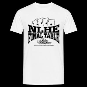 NLHE Final Table (black) - Camiseta hombre