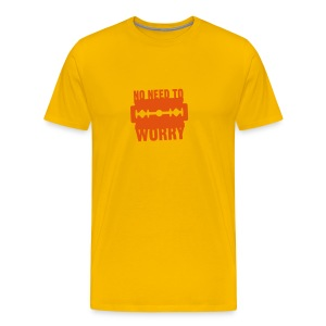 No need to worry solo T-shirts - Men's Premium T-Shirt