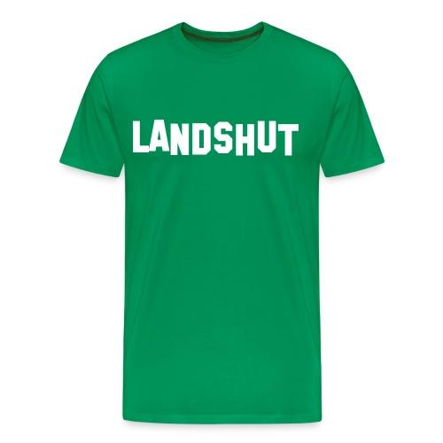 Landshut Hollywood Sign - Männer Premium T-Shirt