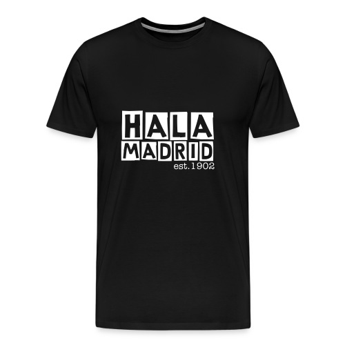 Hala Madrid - Real Madrid - Men's Premium T-Shirt