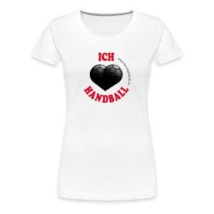 Ich liebe Handball - Frauen Premium T-Shirt