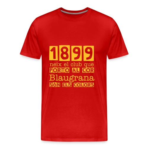 1899 - FC Barcelona - Men's Premium T-Shirt