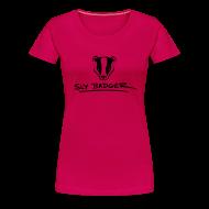 T-Shirts ~ Women's Premium T-Shirt ~ SlyBadger