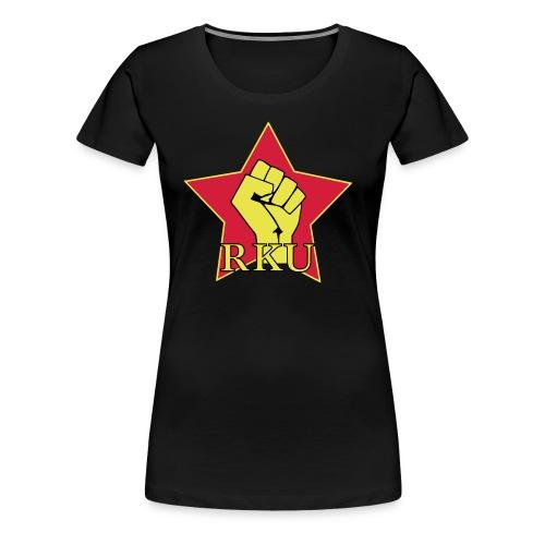 Kortärmad RKU-tröja (dam) - Premium-T-shirt dam