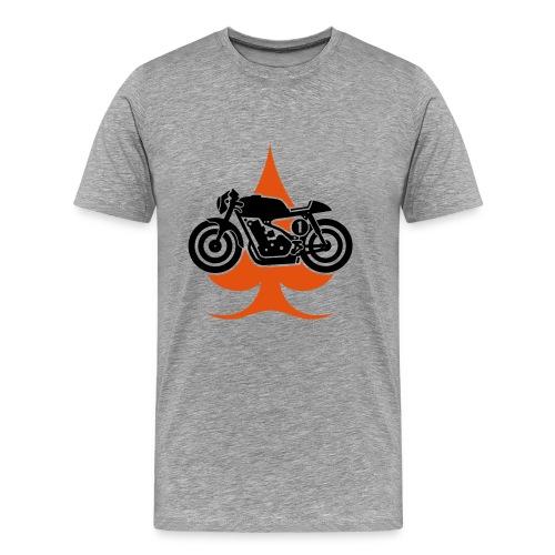Retro Motorcycle - Camiseta premium hombre