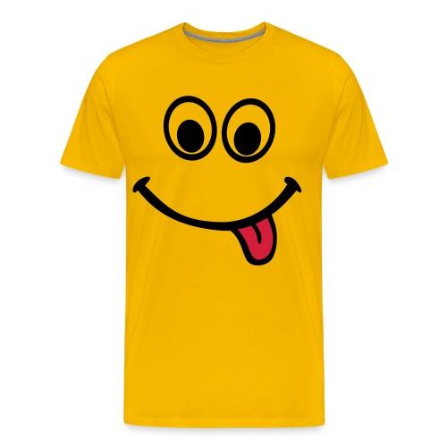 BIG SMILE - Männer Premium T-Shirt