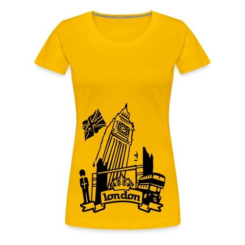 Städte T-Shirts - Frauen Premium T-Shirt