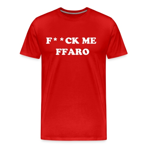 Alternative f**ck me ffaro t-shirt - Men's Premium T-Shirt