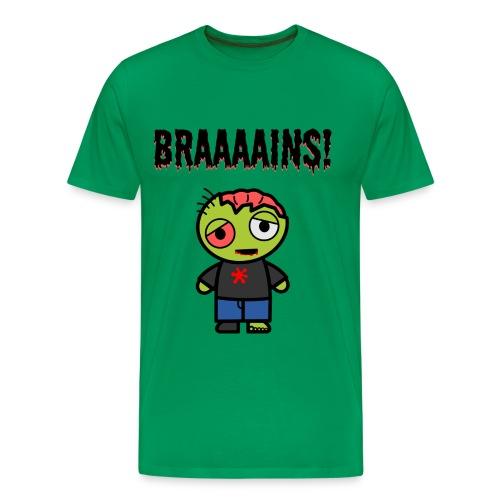 Braaaains! - Männer Premium T-Shirt