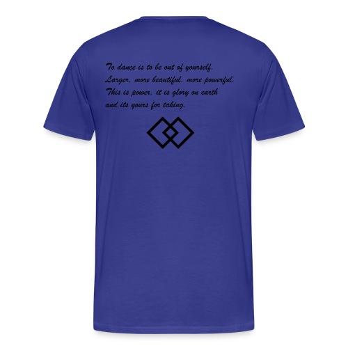 To dance - Männer Premium T-Shirt