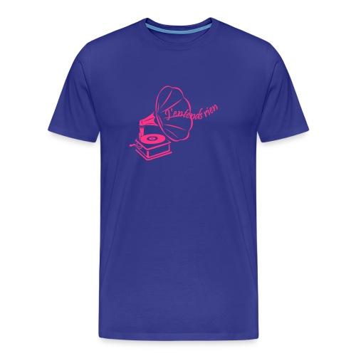 Tee shirt homme - J'entends rien (gramophone) - T-shirt Premium Homme