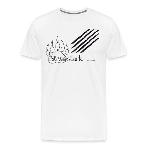 Bärenstark + Kratzspuren|SG Grafschaft - Männer Premium T-Shirt