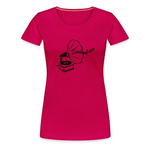 Tee shirt femme - J'entends rien (gramophone) - T-shirt Premium Femme