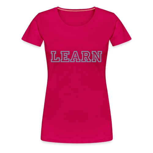 LEARN - Princetown - Women's Premium T-Shirt